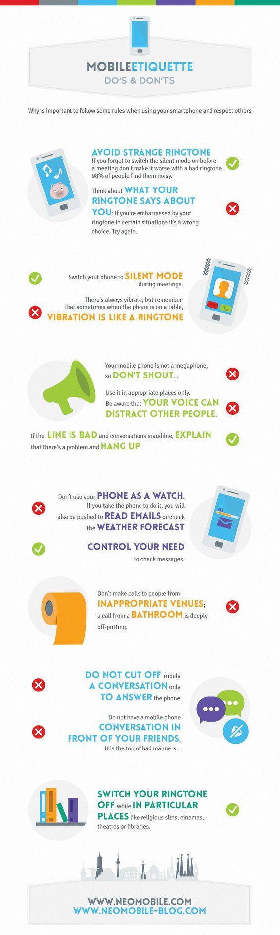 Regras básicas de etiqueta ao usar um celular (3/7/2013)