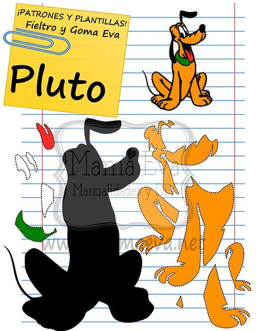 Plantillas goma eva de personajes cuadros pinterest - Plantillas goma eva ...