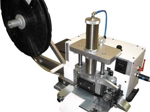 metal tag maker machine