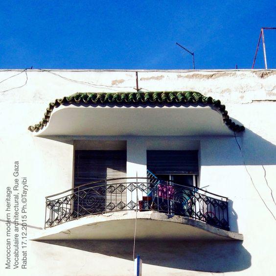 moroccan modern heritage vocabulaire architectural immeuble d 39 habitation rue gaza rabat. Black Bedroom Furniture Sets. Home Design Ideas
