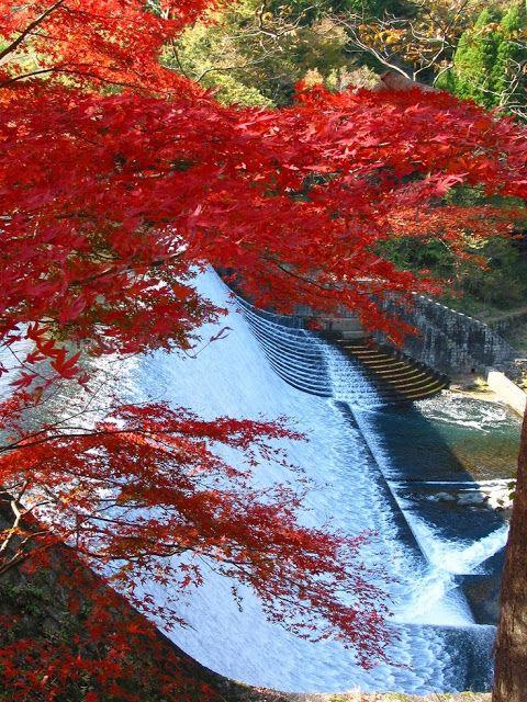 Hakusui Dam, Oita, Japan ~ Blogger Pixz