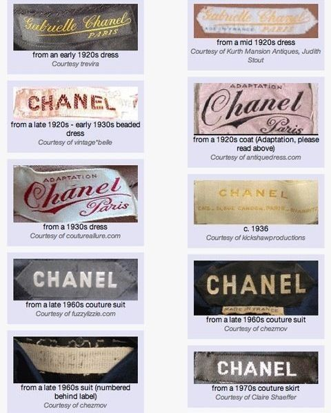 Archived Dreams Studio On Instagram Chanel Tag History In 2020 Vintage Tags Clothing Labels Clothing Labels Design
