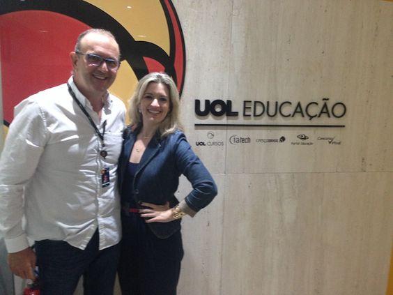 Flávia Ferrari fecha parceria com o UOL Educação para desenvolver e ministrar cursos online.