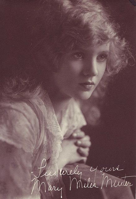 Mary Miles Minter, silent star