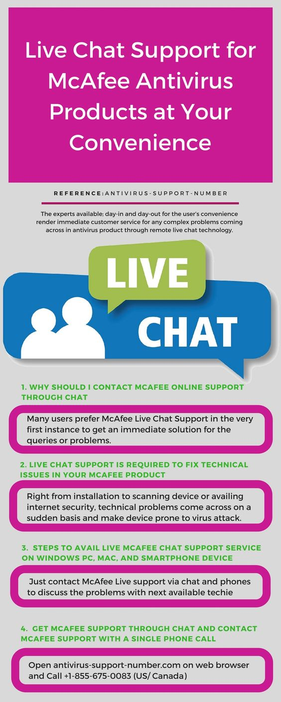 McAfee Chat Support