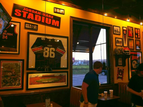 Zaxby's in Pell City... the Auburn side
