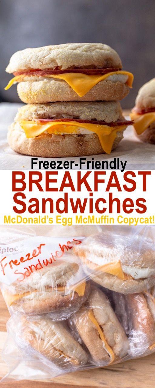 Freezer Breakfast Sandwiches Mcdonald S Egg Mcmuffin Copycat Mcdonald S Egg Mcmuffin Copycat Recipe In 2020 Best Breakfast Sandwich Breakfast Sandwich Freezer Breakfast