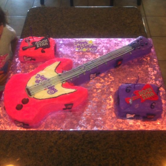 Rock Star Cakes Pictures | Rock Star birthday cake