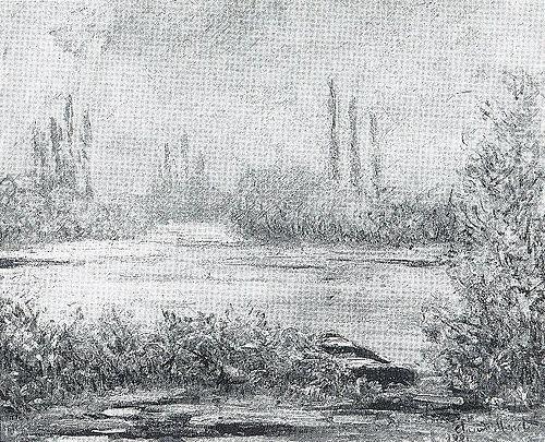 Le Givre à Vétheuil (C Monet - W 554) | Flickr - Photo Sharing!