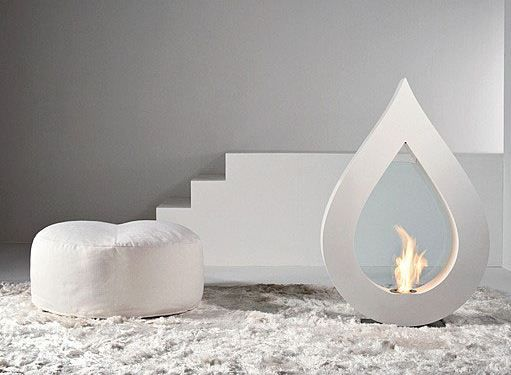 BigFlamme: cheminée desin au bi-éthanol