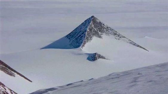 Se aclara por fin el misterio de la pirámide antártica