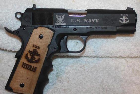"""Navy Vet American Tactical Imports FX45 1911 GI 45ACP 4.25"""" Barrel"""