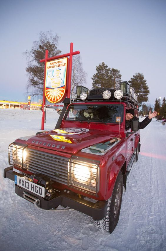 LAND ROVER AND THE ROYAL GEOGRAPHICAL SOCIETY (WITH IBG) 2013 BURSARY WINNING EXPEDITION TEAM REACH POLE OF COLD. Read more - https://www.facebook.com/media/set/?set=a.504159809702943.1073741849.383956825056576&type=3
