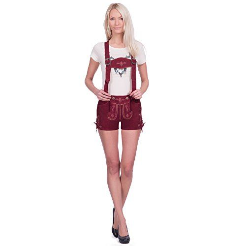Damen Ledershorts Ziegenveloursleder bordeauxrot in Größe 34 Gaudi-Leathers http://www.amazon.de/dp/B00UFV5P3G/ref=cm_sw_r_pi_dp_4wE.ub173DNSQ