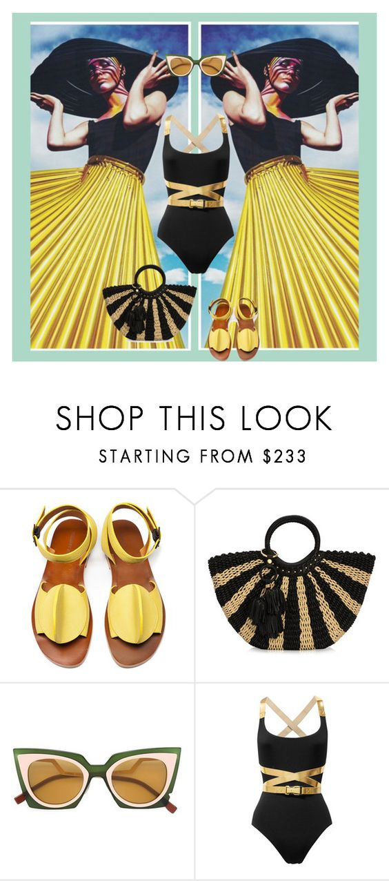 """""""mirror, mirror"""" by fl4u ❤ liked on Polyvore featuring TRACEY NEULS, Henri Bendel, Fendi and Michael Kors"""
