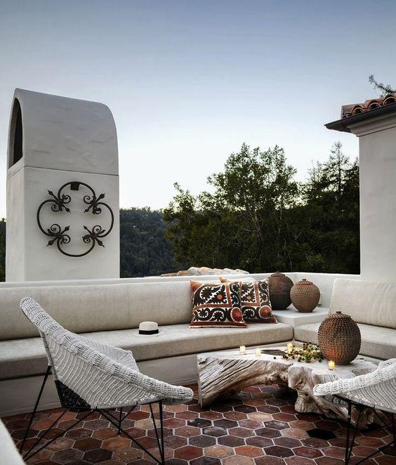 A Bay Area Home With Spanish Style - AphroChic | Modern Global Interior DecoratingAphroChic | Modern Global Interior Decorating