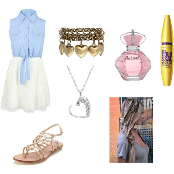 Cute Girl by ziyue-lan on Polyvore featuring polyvore fashion style belle by Sigerson Morrison Jamie Jewellery