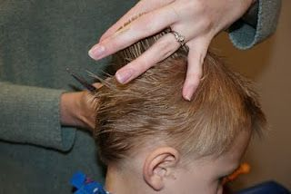 at home boy haircut
