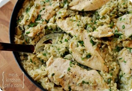 Skillet Chicken w/ Mexican Green Rice