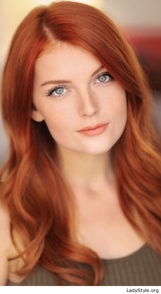 Red Hair And Blue Eyes Ladystyle Beautiful Red Hair Red Hair Color Shades Red Haired Beauty
