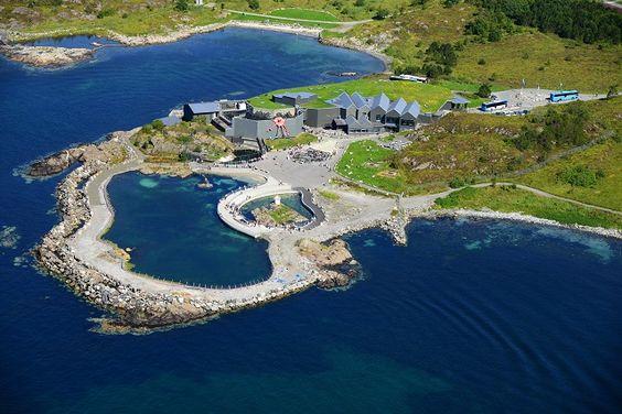 Atlanterhavsparken - Aerial view (Photographer: H. Walderhaug)