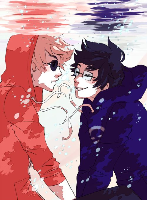 John Egbert And Dave Strider Homestuck - Dave Strid...