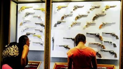 The Autry museum aims for the bigger picture in its gun displays