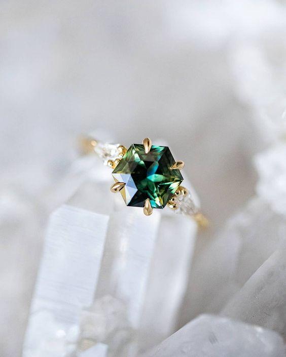 Sapphires as wedding rings! 3