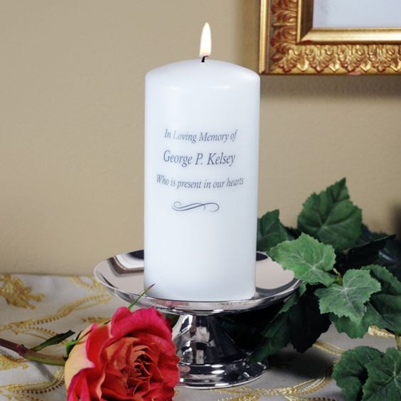 personalized memorial candle stand 228 pc1229sw memorial candle wholesale wedding supplies