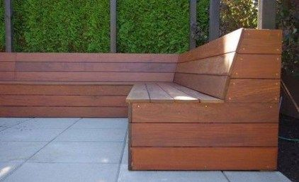 48 Comfy Outdoor Benches Ideas With L Shaped Design Outdoor Bench Seating Backyard Seating Diy Bench Outdoor