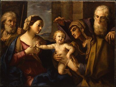The Holy Family - Elisabetta Sirani