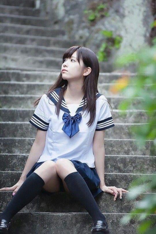 可愛的水手服美少女》Cute Girl Pretty Girls 漂亮、可愛、無敵》青春就是無敵