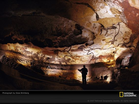 Near Montignac, France, a collection of prehistoric cave paintings are discovered by four teenagers who stumbled upon the ancient artwork after following their dog down a narrow entrance into a cavern. The 15,000- to 17,000-year-old paintings, consisting mostly of animal representations, are among the finest examples of art from the Upper Paleolithic period.