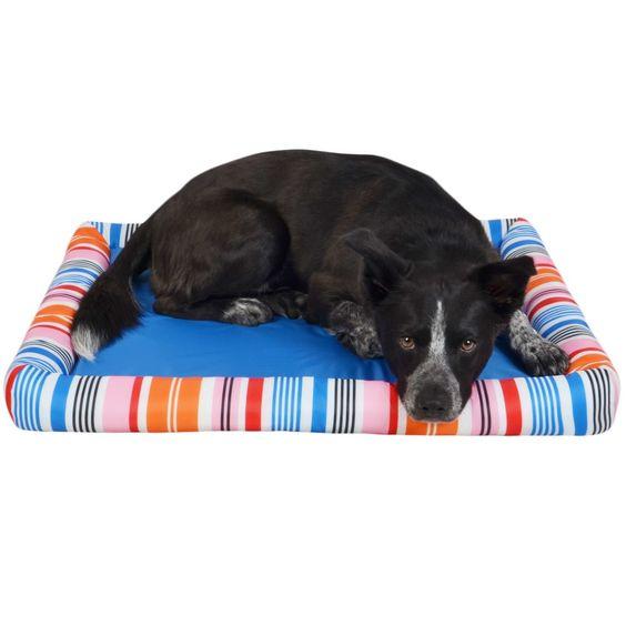 Cooling Dog Mat Blue Pet Beds Pet Cooling Mat Pet Beds Dogs
