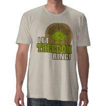 ¡Deje el anillo de Treedom! La camiseta orgánica d por ttfisher