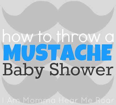 how to throw a mustache baby shower omg yes spike although she 39 s