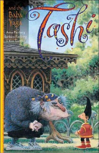 The fifth book in the series finds Tashi sharing a wild tale about Baba Yaga, a witch whose house stands on chicken legs and who likes eating children baked in pies. The excitement continues as this l