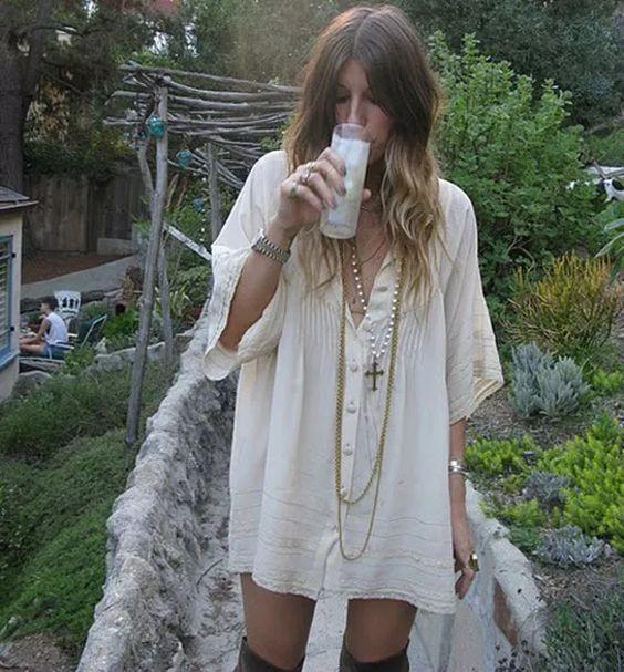 hippie-camisa