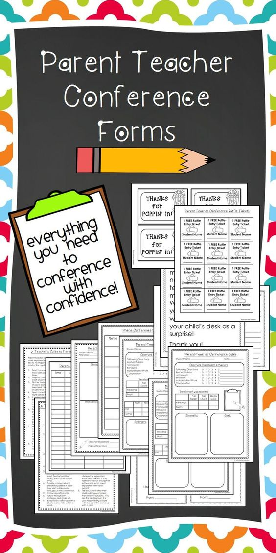 Parent Conference Request Form Elementary Parent Teacher - material request form