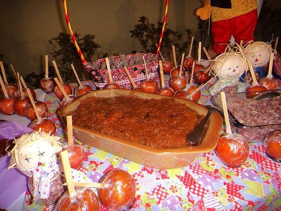 Ideias para a mesa de doces