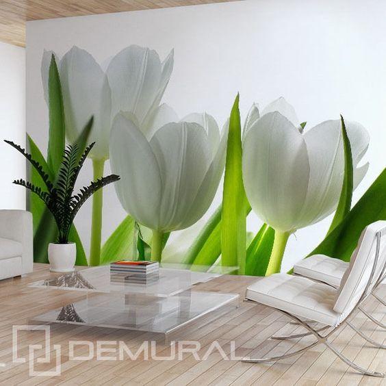 Fototapete vlies tulpen tapete tapeten fototapeten for Schminktisch ikea weiay