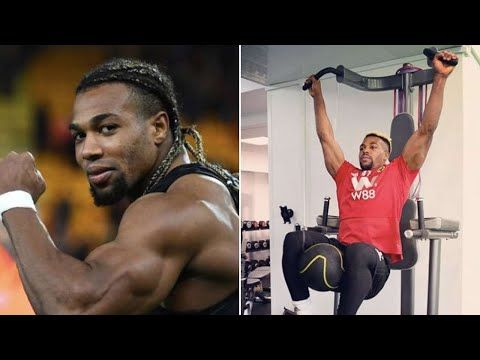 Adama Traore Strength Training In The Gym Most Explosive Footballer In In 2020 Strength Training Gym Football