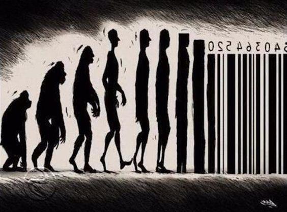 Banksy: Human Barcode
