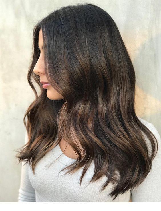 Cool Dark Brown Hair Tone Brown Hair Tones Balayage Hair Brown Hair Colors
