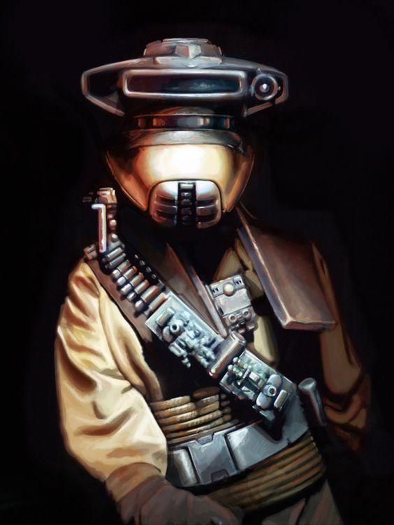 Boushh - Star Wars - Brian Rood