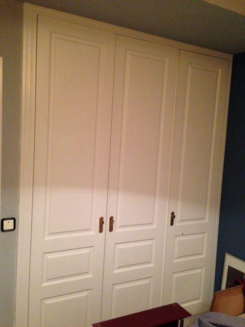 3 hojas de armario modelo fortuny lacado en blanco - Armarios en blanco ...
