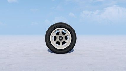 Car Wheel In Snow Winter 3d Rendering Spon Wheel Car Snow Rendering Winter Ad In 2020 Car Wheel Wheel Free Business Card Templates