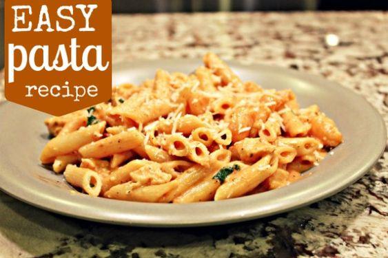 easy chicken and shrimp pasta recipe