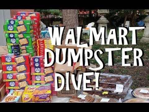 Inside the Walmart Dumpster!! Unbelievable What Gets Thrown