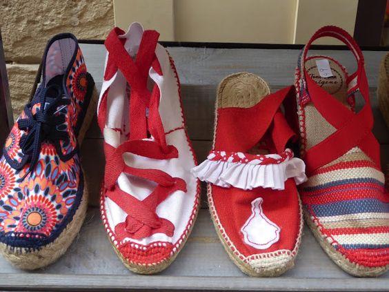 Adoquines y Losetas.: Zapatillas